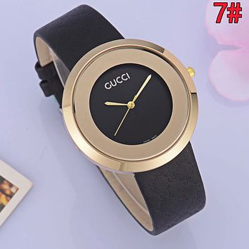 GUCCI Woman Men Fashion Watch Business Watches Wrist Watch 7#