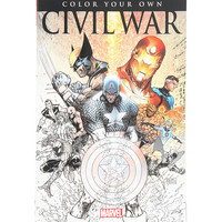 Marvel Color Your Own Civil War Book