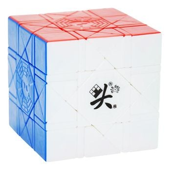 New Arrival OF DaYan Bagua Magic Cube Speed Cube 6 Axis 8 Rank Stickerless Speed Puzzle Cubes Toys for Children New Year Gifts