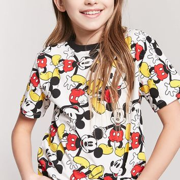 Girls Mickey Mouse Tee (Kids)