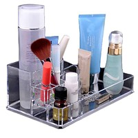 Acrylic Makeup Cosmetic Storage Display Box Case