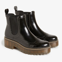Monki | View all accessories | Wingtip boots