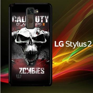 Call Of Duty Black Ops Zombie Y0097 LG Stylus 2 | LG Stylo 2 Case