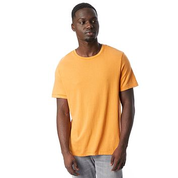 Alternative Apparel - The Outsider Heavy Wash Jersey Stay Gold T-shirt