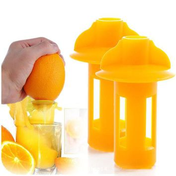 DCCKL72 Mini Manual Hand Citrus Juicer Orange Plastic Squeezer Lemon Fruit Press Juice