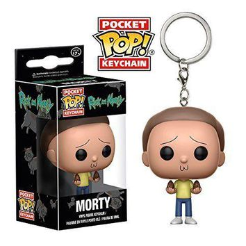 Funko Pop Pocket MORTY Keychain Rick and Morty