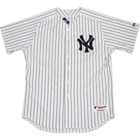 Majestic Authentic New York Yankees White Home Jersey (XXL) - Bulk Size 52