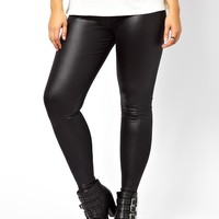 New Look Inspire High Waisted Wet Look Legging