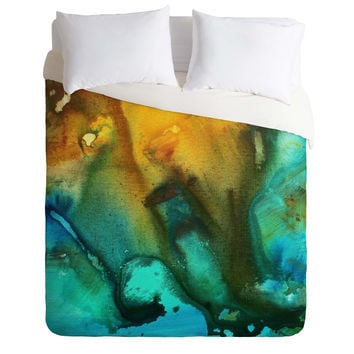 Madart Inc. River Of Rust 3 Duvet Cover