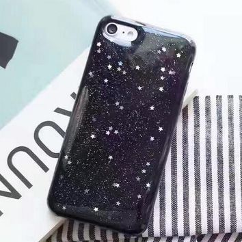 luxurious flashing stars case for iphone 7 7plus iphone se 5s 6 6 plus best protection cover gift box 148  number 1