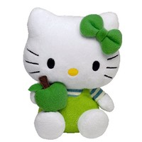 Ty Hello Kitty - Green Apple