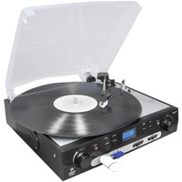 Pyle Usb Turntable With Direct-to-digital Usb And Sd Card Encoder