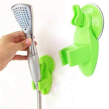 Bathroom Strong Attachable Shower Head Holder Suction Cup Movable Bracket