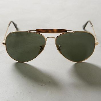 Gotopfashion NWT Ray-Ban ANTHROPOLOGIE Aviator Outdoorsman Sunglasses