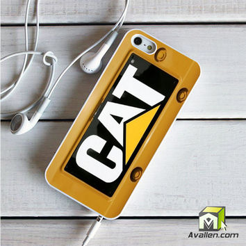 Cat Caterpillar iPhone 5|5S Case by Avallen