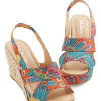 ModCloth Vintage Inspired Pep Up Your Step Wedge