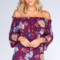 Lyrical Floral Romper