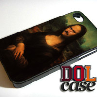 Ron Swanson Monalisa Art Painting Star iPhone Case Cover | Free Shipping | Alpa 673