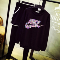 """NIKE""  Fashion Pullover Sweatshirt Hoodie Two-Piece Suit"
