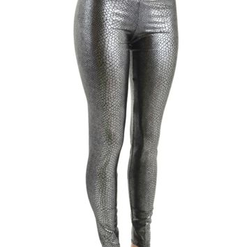 Coquetry Snakeskin Leggings