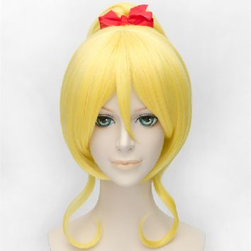 Love Live Eli Ayase Golden Yellow Wig 30cm CP152885