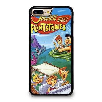 JETSONS MEET FLINTSTONES iPhone 7 Plus Case Cover