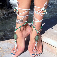 Peitho The Goddess Of Persuasion And Seduction / Barefoot Sandals By Iris (Small/Indie Brands)