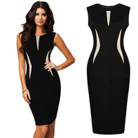 Charming Bodycon Pencil Midi Casual Dress