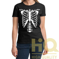 Skelington Tshirt High Quality Design in Men's and Women's