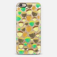 Acorns Retro (transparent) iPhone 6 case by Lisa Argyropoulos | Casetify