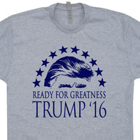 Donald Trump T Shirt 2016 Make America Great Again T Shirt Trump 2016 T Shirt