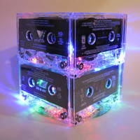 Music Lover Cassette Tape Lamp MixTape Night by BreakTheRecord