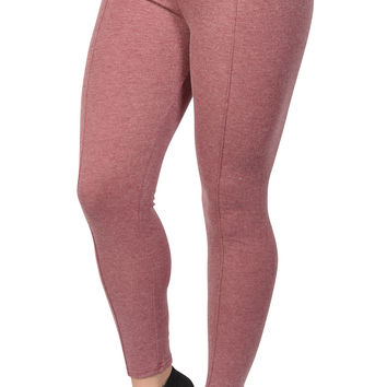 Rose Cotton Middle Line Leggings Design 49