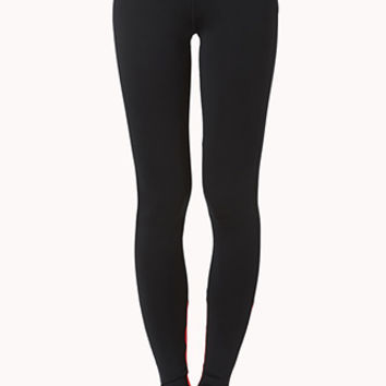 Colorblocked Skinny Workout Leggings