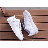 """Nike ""Fashion Men's Women Shoes air force Leisure sports shoes"