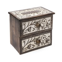 Basanti Mango Wood Keeper's Chest - Matr Boomie (B)