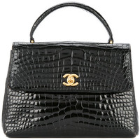 Chanel Vintage Turnlock Tote - Farfetch