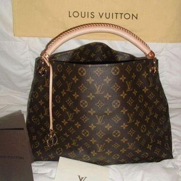 PEAPFN LV Louis Vuitton Women Shopping Bag Leather Tote Handbag Satchel Bag