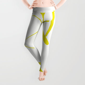 Percentage is not the whole! Leggings by David Darcy