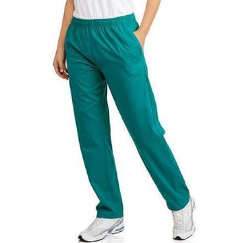 Carol's Scrubs Women's Basic Core Scrub Pants, Small, Evergreen, RN86960