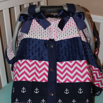 Nautical Canopy Carrier Cover
