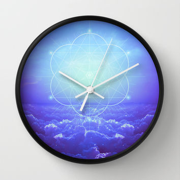 All But the Brightest Stars (Sirius Star Geometric) Wall Clock by Soaring Anchor Designs