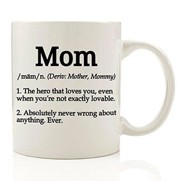 Funny Definition Mom Coffee Mug 11 oz