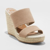 Women's dv Adelina Two Band Wedge Espadrille Sandals