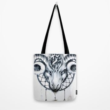 Dream catcher Tote Bag by PaintedSoul