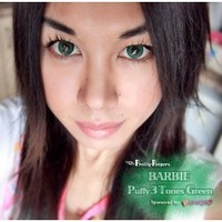 Barbie Puffy 3 Tones Green (similar to Dolly Eye Puffy 3 Tones)