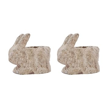 Cottontail Set of 2 Catchpots