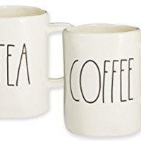Rae Dunn Tea & Coffee Mugs