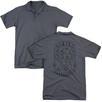 Asking Alexandria - The Finest (Back Print) Mens Regular Fit Polo