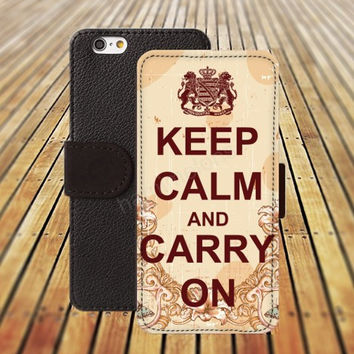 iphone 5 5s case dream keep calm and carry iphone 4/ 4s iPhone 6 6 Plus iphone 5C Wallet Case,iPhone 5 Case,Cover,Cases colorful pattern L147